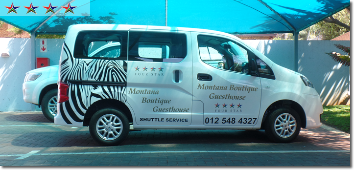 Montana Boutique Guesthouse Shuttle facilities