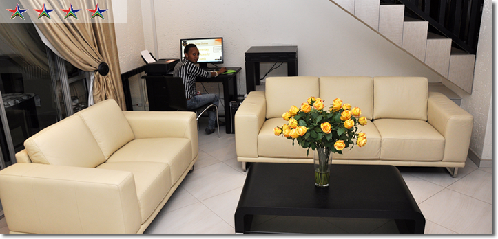 Montana Boutique Guesthouse reception